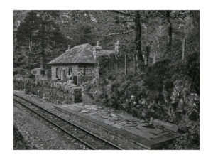 The railway cottage at Coed-y-Bleiddiau is today empty of all but memories. Thousands of passengers on the Ffestiniog Railway did not get their customary wave as their trains passed its door this summer. Coed-y-Bleiddiau (The Wood of the Wolves) is a pretty little cottage on a mountain slope beside the Ffestiniog railway which runs between Porthmadog and Blaenau Ffestiniog. It even has its own tiny railway platform where trains will make a request stop for walkers to alight. Originally built in 1873 for an inspector of the narrow gauge railway, the cottage is situated a couple of miles above Tan- y-Bwlch station in the heart of the Snowdonia National Park. Before World War II the isolated cottage was a holiday home to a succession of interesting people, including St John Philby, father of the spy Kim Philby who fled to Moscow at the height of the Cold War, and Sir Granville Bantock, the composer and conductor. Another former occupant was the infamous William Joyce, the wartime traitor Lord Haw-Haw. Joyce was born in Brooklyn, New York, in 1906 to Irish parents who became naturalised American citizens before returning to their native country. The family moved from Ireland to England in 1922. That same year Joyce's application to enrol in the University of London Officers' Training Corps was accompanied by a letter from his father stating 'We are all British, not American citizens'. In London Joyce graduated from Birkbeck College in 1927. In the following decade he became a member of Oswald Mosley's British Union of Fascists and, briefly, the Conservative Party, but found time to do a one-year graduate course in philology and a two-year psychology course at King's College. He also owned a radio and electrical shop in Whitstable, the Kent town famed for its oysters, around this time. Joyce applied for and obtained a British passport in 1934. He married his second wife, Margaret, in 1937 and together they founded his National Socialist League, following in the path of h